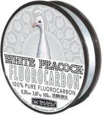 White Peacock  fishing line